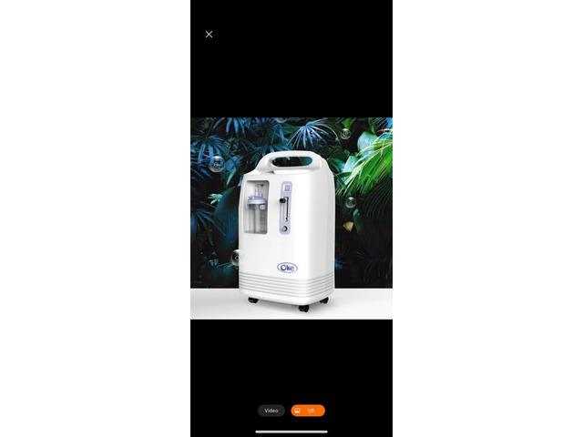 Portable Olive Oxygen Concentrator - 1/7