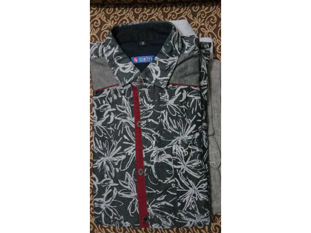 4 FORMAL SHIRTS - CAN BE USED FOR OFFICE AND PARTY WEAR - 4/4