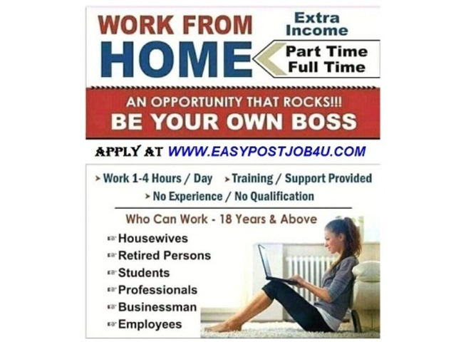 Work from home online jobs vacancy candidates hiring - 1/1