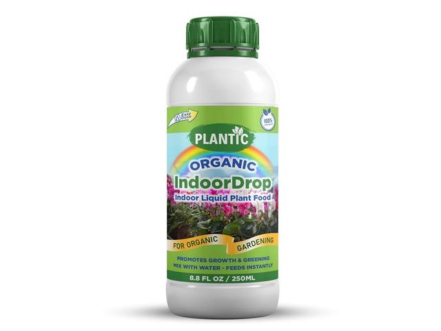 Plantic Organic Indoor Drop Plant Food Liquid Fertilizer - 1/1