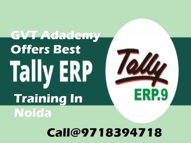 Tally Training institute in Noida-GVT Academy - 1/1
