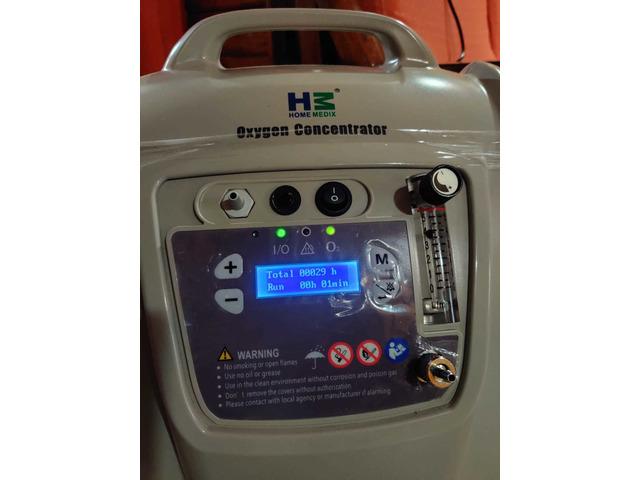 Home medix 5L new oxygen concentrator - 2/3