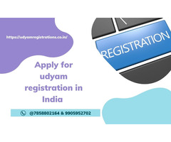 Apply for udyam registration in India @7858802164 & 9905952702 - Image 1/2