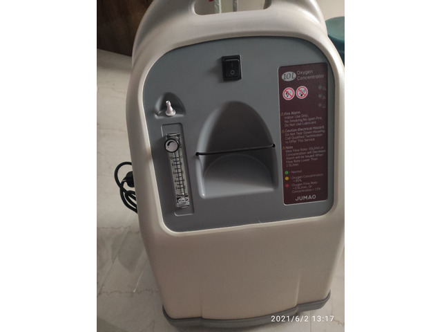 10 Ltrs oxygen contractor for sale 90,000 - 1/1