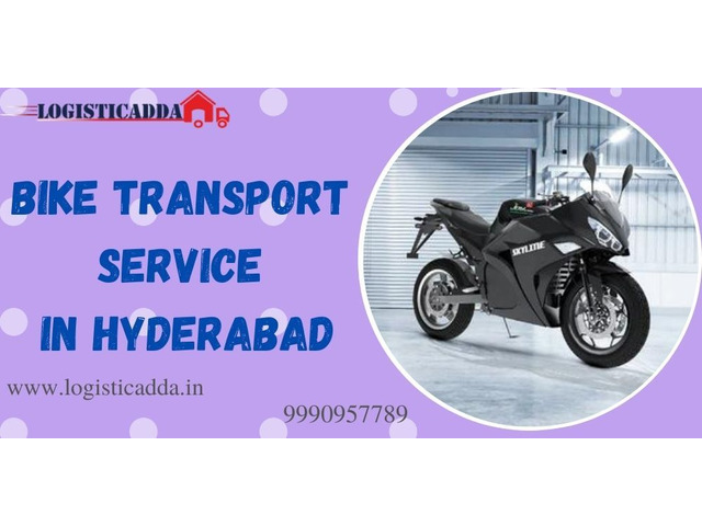 Get Professional And Verified Bike Transport Service in Hyderabad-LogisticAdda - 1/1
