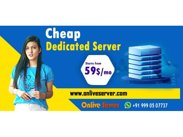 Buy Cheapest Dedicated Server Hosting Plan from Onlive Server - 1/1