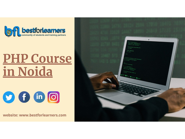 PHP Training in Noida - 1/1