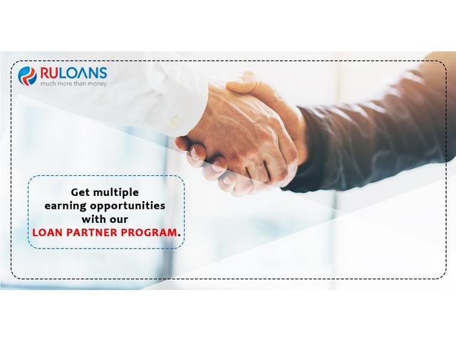 Loan DSA Agent (DSA) in a leading financial Co. become a part of Ruloans  Business Associate - 1/1