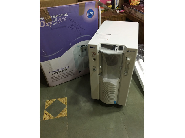 BPL Oxygen Concentrator  - Oxy 5 Neo [Brand New] - 2/2