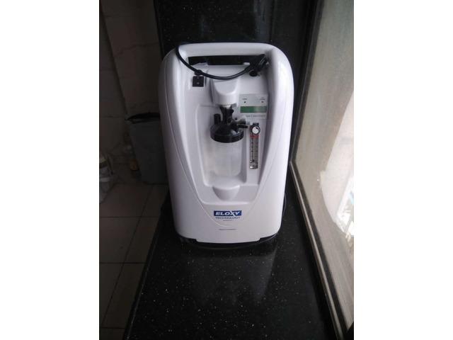 Eloxy Oxygen Concentrator Machie - 5 Liter Capacity - 1/2