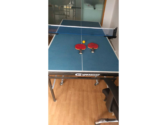 Gymnco Perfect Table Tennis Table With Levellers Top 18 mm. - 1/1