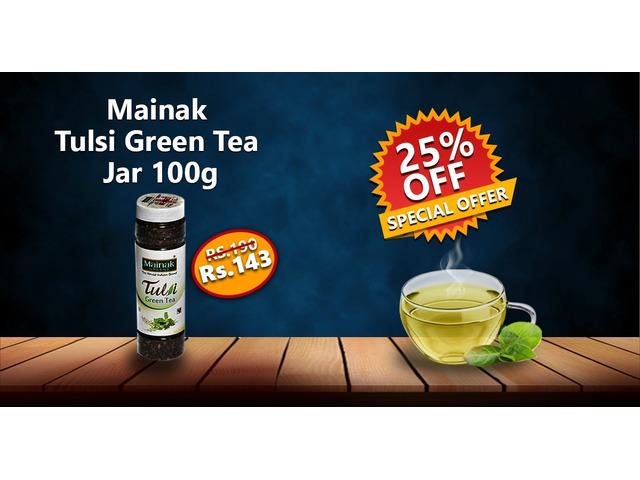Order Tea Online – GREEN TEA,TULSI GREEN TEA,SLIM TEA,HERBAL MASALA TEA,TULSI TEA,CTC TEA - 1/6