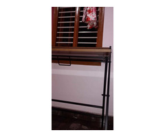 Study Table foldable brand new with full pacakage nilkamal brand walnut colour in good condition. A. - Image 1/10