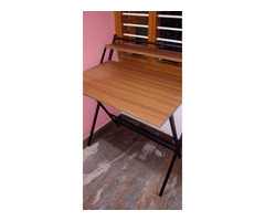 Study Table foldable brand new with full pacakage nilkamal brand walnut colour in good condition. A. - Image 5/10