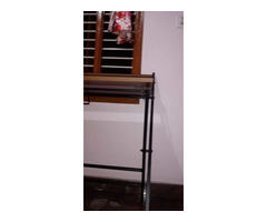 Study Table foldable brand new with full pacakage nilkamal brand walnut colour in good condition. A. - Image 10/10
