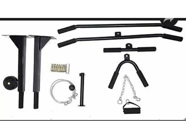 Pull up bar with pulley - 2/2