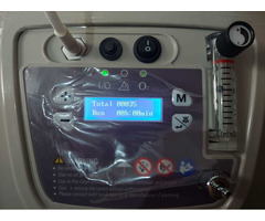 Oxygen concentrator barely used - Image 2/5
