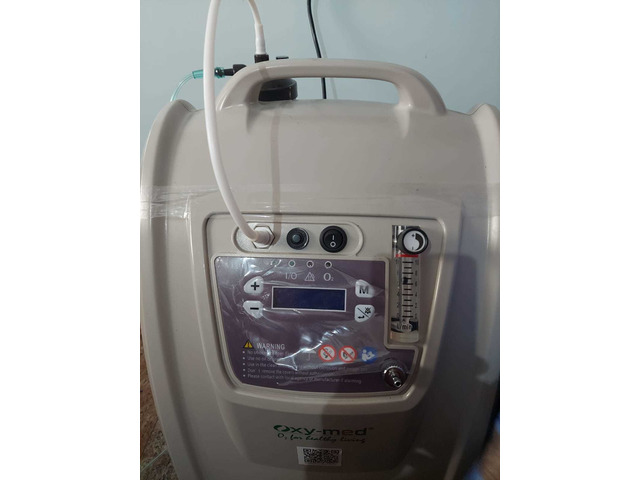 Oxygen concentrator barely used - 4/5