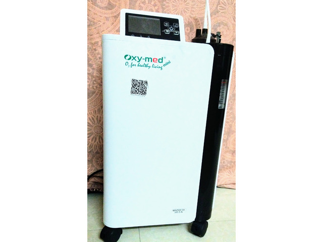 Oxy-Med ( Model: MAOXY 05) 5Lpm oxygen concentrator for sale - 2/3