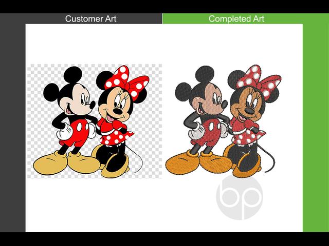 Professional Machine Embroidery Digitizing Service - 4/6