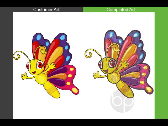 Professional Machine Embroidery Digitizing Service - 6/6