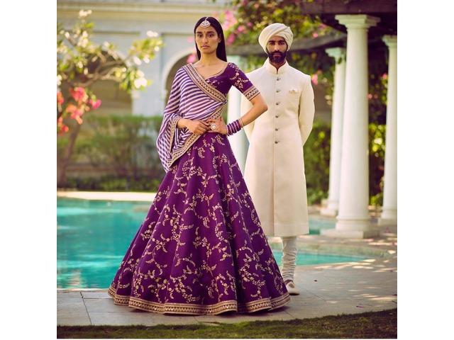Buy the Latest Bridal lehengas  @vadhucreations.com - 4/4