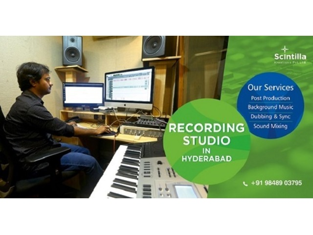 Post Production Services In Hyderabad|Camera On Rental - 1/1